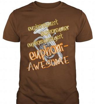 funny euphonium shirt